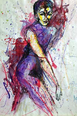 Abstract Lady