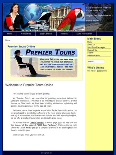 Premier Tours Online