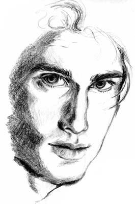 Carey Elwes - Pencil Sketch