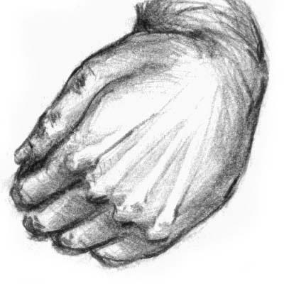 Hand - Pencil Sketch