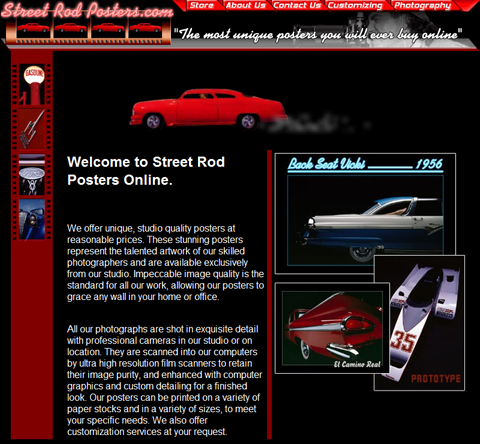Street Rod Posters