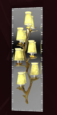 WDD Encore Tree Sconce