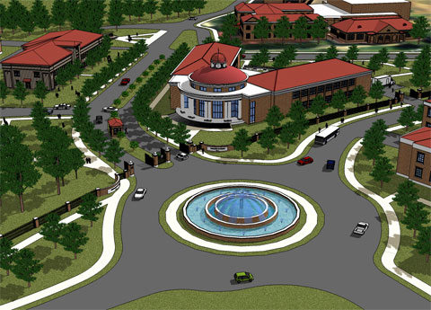 Tuskegee University Campus Model