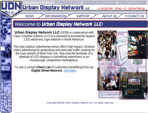 Urban Display Network